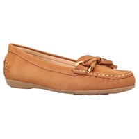 Carvela Comfort Cally Bow Loafers Tan