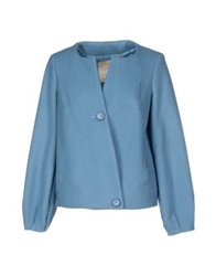 Fly Girl Blazers Pastel Blue