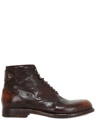 Alberto Fasciani Brushed Leather Boots