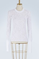 Givenchy Lace Knitwear White