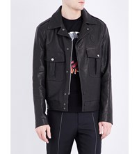 Maison Martin Margiela Leather Jacket Black