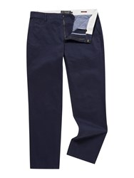Howick Slim Fit Fraternity Casual Chino Navy