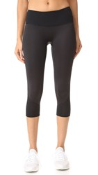 Prismsport Spring Capri Leggings Black