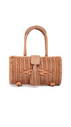 Cleobella Clarissa Wicker Bag Natural
