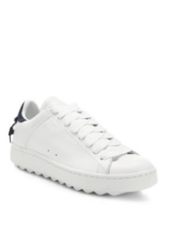Coach Leather Sneakers White