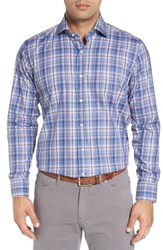 Peter Millar Men's Alpine Regular Fit Plaid Sport Shirt