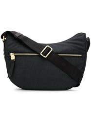 Borbonese Classic Shoulder Bag Black
