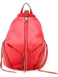 Rebecca Minkoff 'Julian' Backpack Women Leather One Size Red