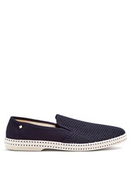 Rivieras Classic 20 Canvas Loafers Blue