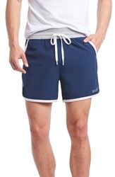 2Xist 2 X Ist Performance Jogger Shorts Varsity Navy White