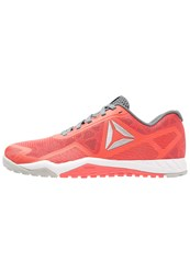 Reebok Ros Workout Tr 2.0 Sports Shoes Coral Grey Asteroid Pink