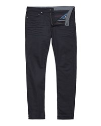 Ted Baker Printo Printed Hem Tapered Fit Jeans Grey