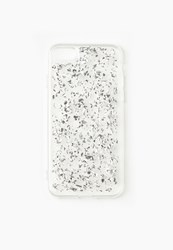 Missguided Silver Glitter Flake Iphone 7 Case