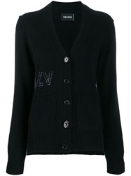Zadig And Voltaire Floccy Cardigan Black