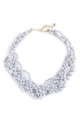 Baublebar Women's 'Bubblestream' Collar Necklace Howlite