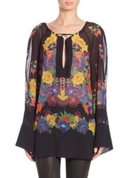 Just Cavalli Mexican Couture Print Tunic Multi