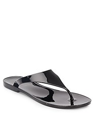 Bcbgeneration Star Jelly Thong Sandals Black