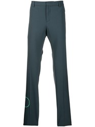 Valentino V Logo Tailored Trousers Grey