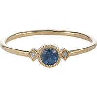Jennie Kwon Women's Sapphire Diamond And Gold Sotto Voce Ring No Color