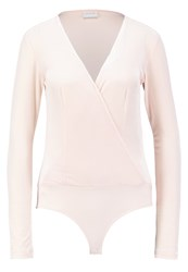 Vila Vialoma Long Sleeved Top Silver Peony Rose