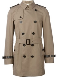 Burberry London Classic Trench Coat Brown
