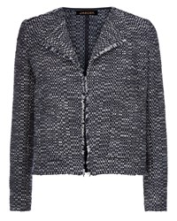 Jaeger Textured Jacket Navy