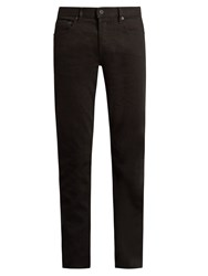 Stone Island Tapered Leg Five Pocket Jeans Black