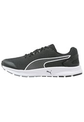 Puma Descendant V4 Cushioned Running Shoes Black White
