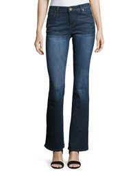 Kut From The Kloth Natalie Kurvy Boot Cut Jeans Blue
