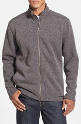Men's Merrell 'Big Sky' Fleece Knit Jacket Manganese Heather