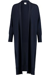 Iris And Ink Wool Maxi Cardigan Blue