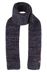 Men's Bickley Mitchell 'Twist' Scarf Black Black Twist