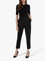 Jaeger 7 8'S Stretch Tapered Trousers Black