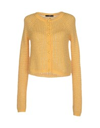 Ajay Knitwear Cardigans Women Yellow