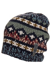 Replay Hat Blue Mouline Jacquard