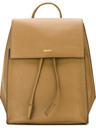 Dkny Classic Backpack Nude And Neutrals