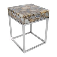 Amara Cube Top Agate Table