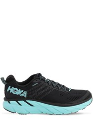 Hoka One One 27Mm Clifton 6 Running Sneakers Black