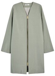 Lanvin Mint Grosgrain Jacket Aqua
