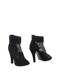 Gianni Barbato Footwear Ankle Boots Women Black