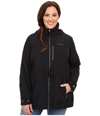 Columbia Plus Size Suburbanizer Jacket Black Women's Coat