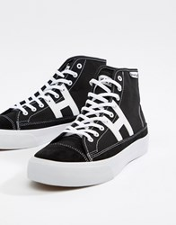 Huf Hupper 2 Hi Trainers In Black
