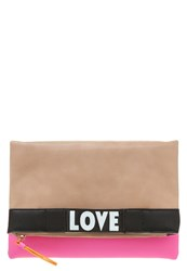 Lydc London Clutch Nude