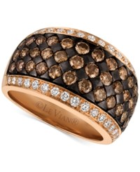 Le Vian Chocolatier Diamond Band 2 3 8 Ct. T.W. In 14K Rose Gold