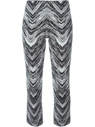 Missoni Knitted Cropped Trousers Black