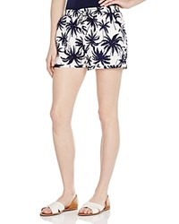 Zoa Tropical Print Shorts Compare At 85 Navy Print