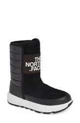 The North Face Ozone Park Waterproof Boot Black White