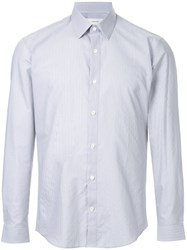 Cerruti 1881 Classic Long Sleeved Shirt Cotton Grey
