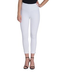 Lysse Solid Cropped Leggings White