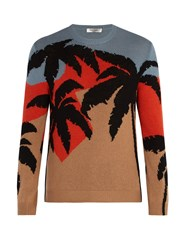 Valentino Hawaiian Knit Sweater Multi